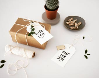 Gift Tag Set of 5