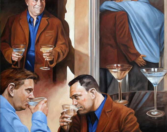 Love Story, by Kenney Mencher oil on linen canvas 48x70x1.5