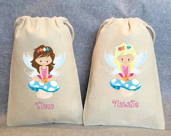 "24- Fairy, Fairies, Fairy Party, Fairy Party Favor, Fairy Birthday, Fairy party favor bags, 5""x8"""