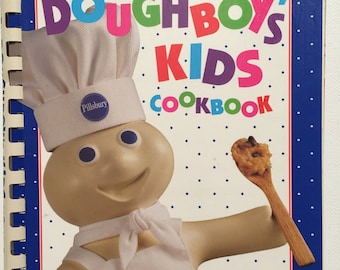 Pillsbury Doughboy's Kids Cookbook. First Edition Cookbook. 1992
