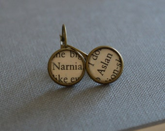 The Lion, The Witch and The Wardrobe Aslan Narnia Earrings