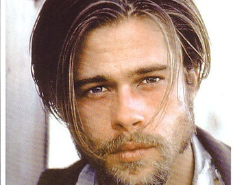 Brad Pitt Signed Autographed 8 X 10 Legends Of The Fall Color Photo