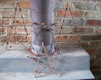 "14"" Barbed wire star"