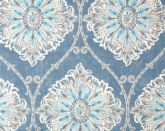 Leverett Denim, Magnolia Home Fashions - Cotton Upholstery Fabric By The Yard