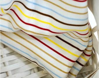 Cotton Interlock Knit Stripes per Yard 29926