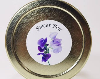 Keys Glass Collab Sweet Pea Scent