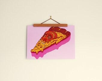 Monsieur Pizza Slice