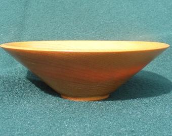 Yellowheart bowl