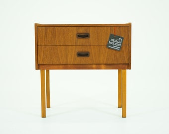 310-179 Teak Bedside Table Danish Mid Century Modern