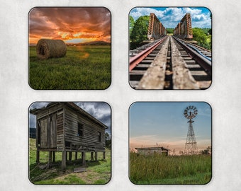 Country Coasters Set