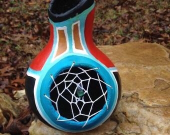 Native American Inspired Gourd Dreamcatcher
