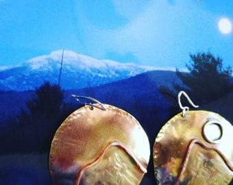 Mountainscape dangles