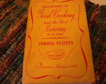 Vintage cookbook Duncan Hines 1945 Adventures in Good Cooking 15th printing