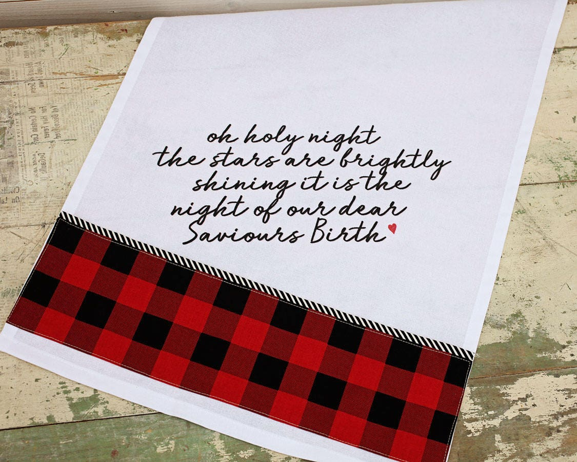 Sweetwater Ink- Christmas Kitchen Towel Kit
