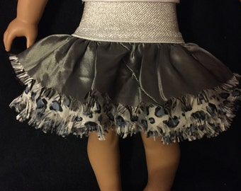 American girl doll  silver