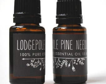 Lodgepole Pine Needle Essential Oil (15ml)