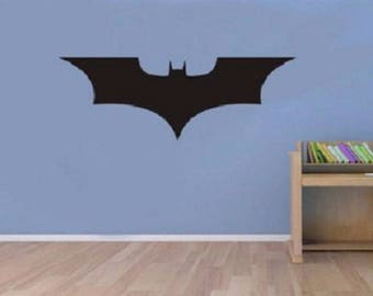 Dark Knight Wall Decal / Batman Wall Decal / Super Hero Decal / Kids Decor /