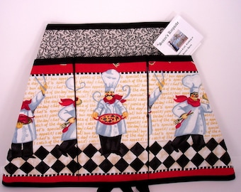 French Chef's Garden, Craft, Vendor Apron or all your Cooking Adventures