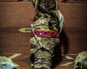 Mummy from Kingdom of Kush creepy doll Ooak promotion