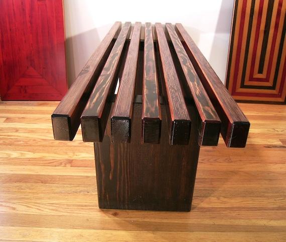 slat steph simon charlotte by galerie perriand oak bench for
