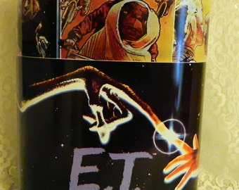 vintage very rare 1982 E.T. The extra terrestrial trash can cheinco u.s.a made