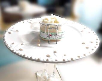7-UP Pound Cake Sugar Scrub - Jojoba Butter - Whipped Butter Sugar Scrub Mango, Shea and Cocoa Butter