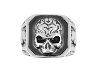 Skull Eagle Ring Stainless Steel Motorcycle Biker Jewelry