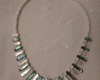 Statement necklace sterling silver