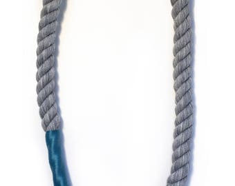 Twisted rope necklace- More Colors!
