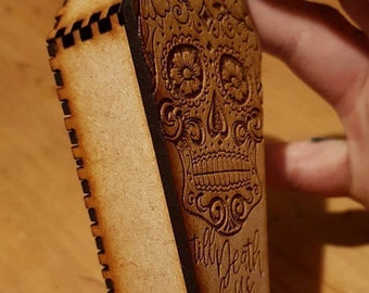 Day of the Dead Coffin Box / Wooden Trinket Box / Wooden Box / Skull Box / Skull / Halloween / Mexican / Jewellery Box / Coffin / Ring box