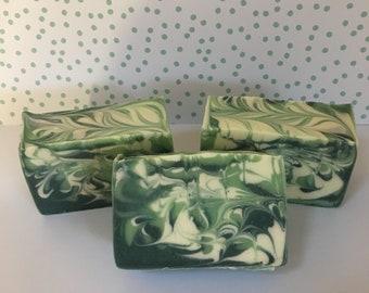 Aloe and White Lilac Soap; Bath and Body; Handmade Soap