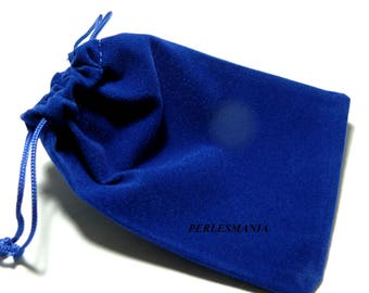 Finish jewelry 10 (120 by 90mm) Midnight Blue Velvet Gift bags