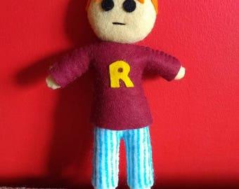 Handmade Ron Weasley Plush