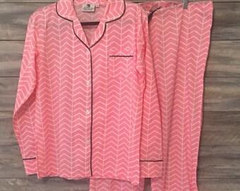 Bridesmaid Pajama Set, Monogram bridesmaid pajama, Ladies Monogram Loungewear,Monogram Pajama Set, Pajamas, Monogram, Bridesmaid