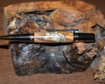 Handcrafted Laser Cut Praying Hands Pen  (789)