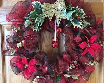 Deck The Halls Christmas Wreath