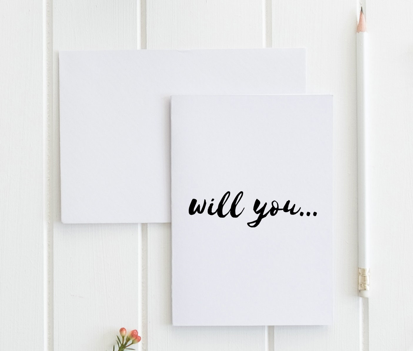Will You Greeting Card Blank Card Buy 1 Or A Discounted