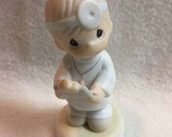 Precious Moments - 'Loving is Caring' Doctor Figurine (#240)
