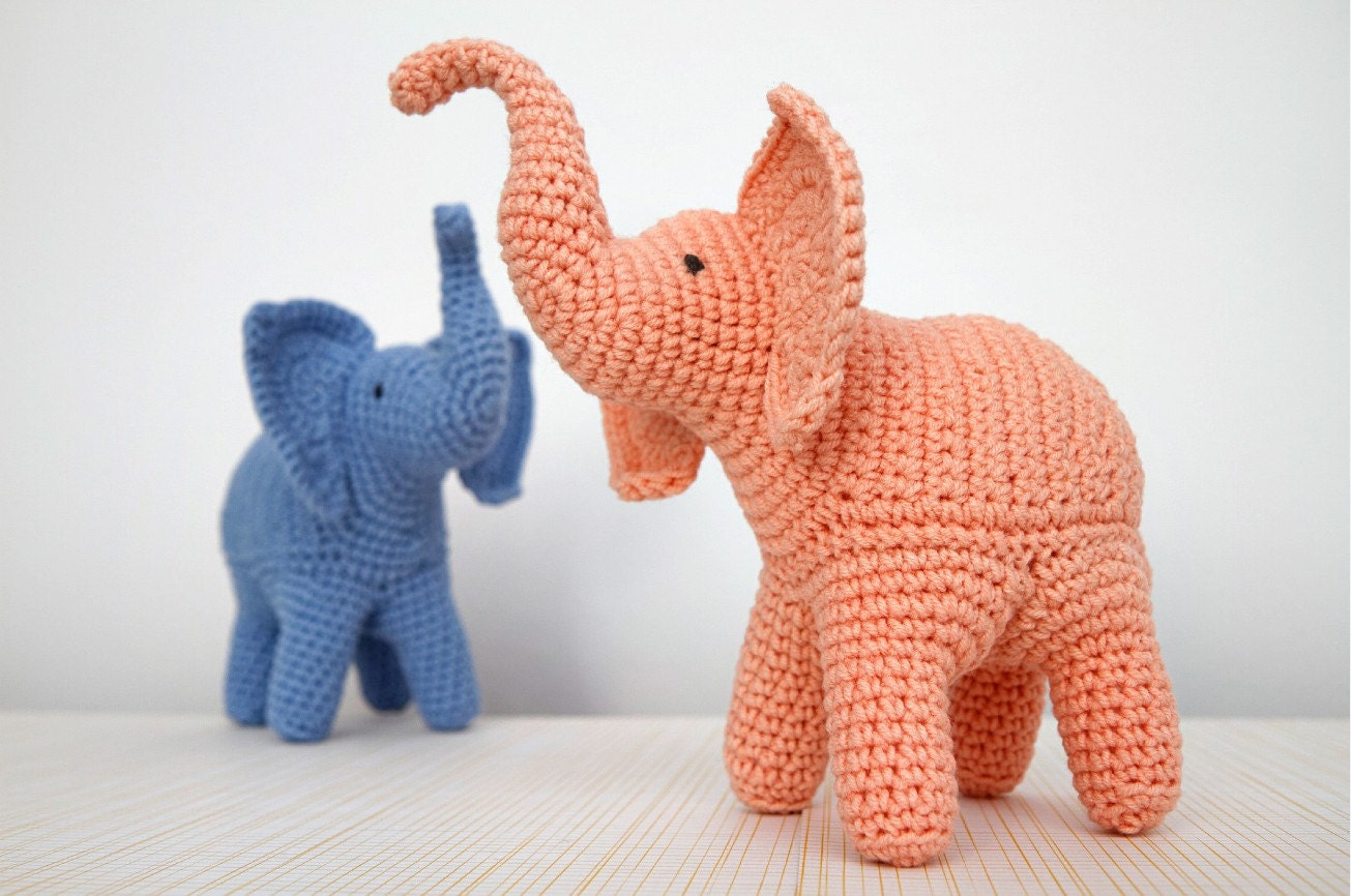 Sewing pattern for elephant soft toy gallery craft decoration ideas elephant crochet pattern elephant amigurumi pattern trunk up this is a digital file jeuxipadfo gallery dt1010fo