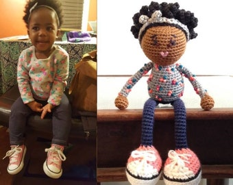 Custom doll from photo -only if we've spoken previously