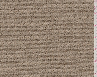 Cocoa Brown Boucle, Fabric By The Yard