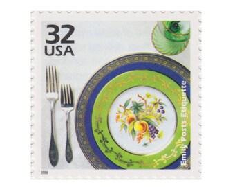 5 Unused US Postage Stamps - 1998 Celebrate the Century 1920s Series - 32c Emily Post Etiquette - Item No. 3184f