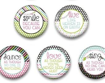 Inspirational Magnets - Inspirational Magnet - Inspirational Gift - Fridge Magnet - Fridge Magnets -