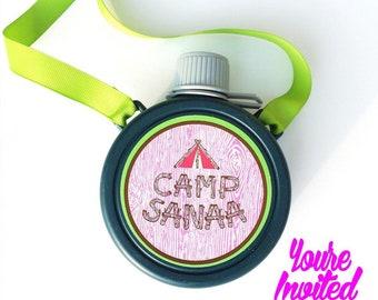 Camp Canteen Favors - Quantity of 10 - Custom