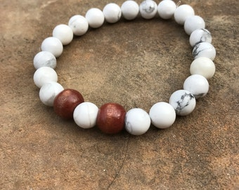 Witte vrede armband