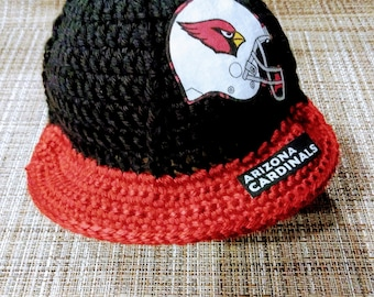 Cardinals baby hat