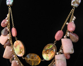 The Pink Siren Necklace