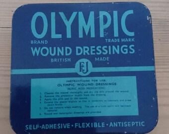 Vintage Olympic tin