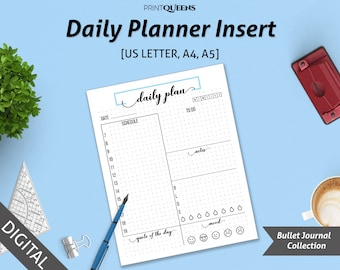 Printable Hourly Planner, Printable Daily Schedule, Hourly Schedule, Hourly Planner 2018, Day Organizer, Hourly Planner 2018, Daily Planner