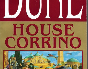 Dune House Corrino Book by Frank Herbert and Kevin J. Anderson Paperback Edition Like New Vintage SciFi Romance